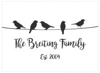 **Template Name:**Birds on Wire