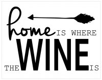 **Template Name:** Home is where the Wine is